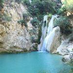 Foto: Wasserfall in Polylimnio