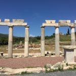 Foto: Säulen im antiken Messini