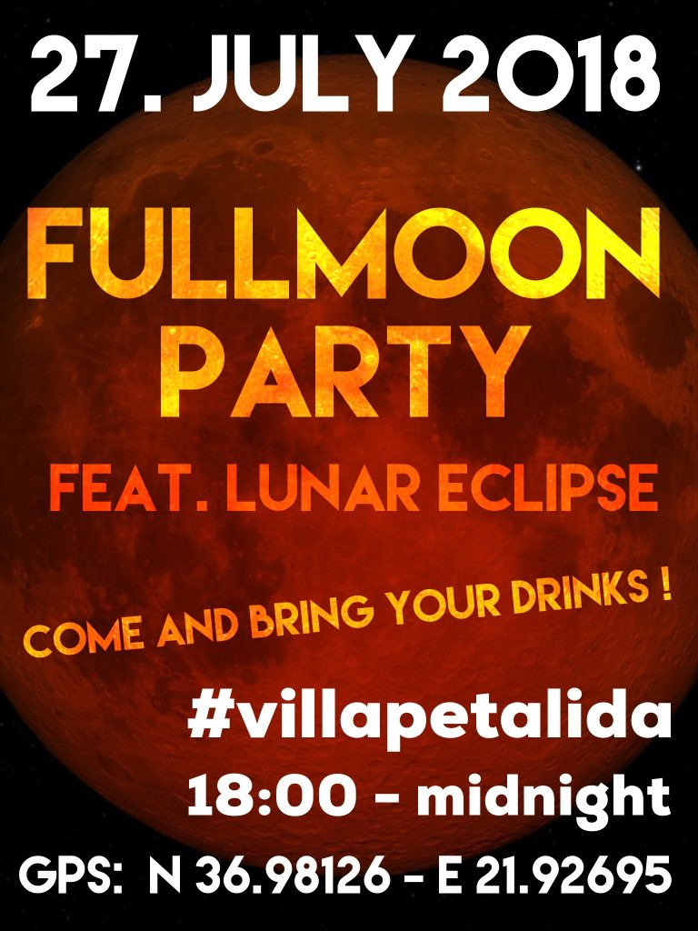 Flyer Fullmoonparty