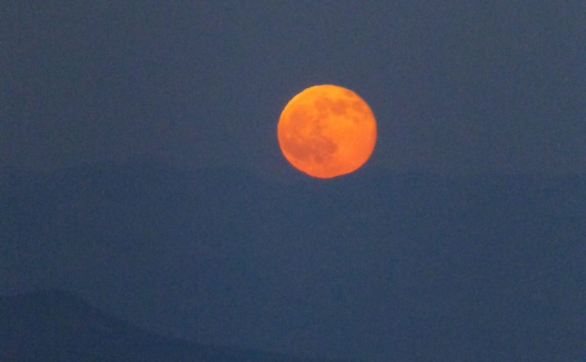 27.Juli: Vollmond-Party bei totaler Mondfinsternis